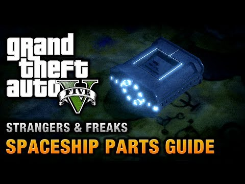 GTA 5 - Spaceship Parts Location Guide [From Beyond the Stars Achievement / Trophy]