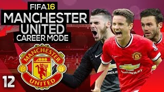 Fifa 16 Career Mode: Manchester United #12 - Playing Training Drills (fifa 16 Gameplay)