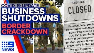 Coronavirus: Melbourne businesses to shut amid stage four lockdown | 9News Australia