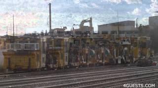 BNSF RAILROAD HEAVY EQUIPMENT along the TRACKS