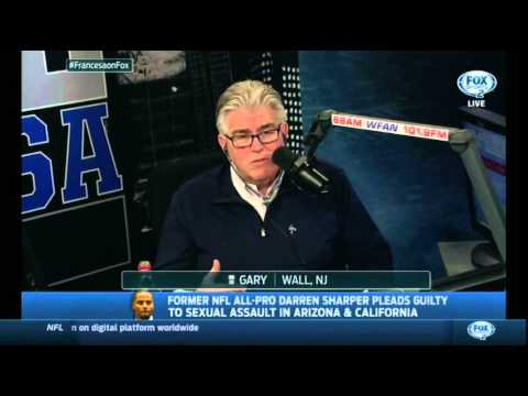 Mike Francesa discusses the drugging and raping Darren Sharper