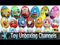 watch he video of Top 10 YouTube Toy Unboxing and Surprise Eggs Channels - TopX Ep.21