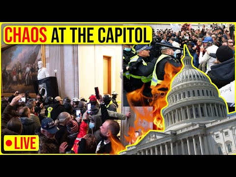 BREAKING: Madness in Washington D.C right now