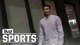 NBA's Jayson Tatum Gets Rejected at Hollywood Hot Spot | TMZ Sports