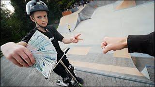 ИГРА в САМОКАТ НА 50.000руб - БОРЗЫЙ 14 ЛЕТНИЙ ЖУЛИК