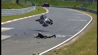 NORDSCHLEIFE CRASH COMPILATION 2015 - FAIL, Almost Crash, Lucky Driver, Touristenfahrten Nürburgring