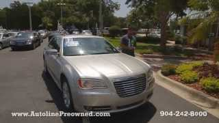 Autoline Preowned 2012 Chrysler 300 Limited Walk Around Review Test Drive Used For Sale Jacksonville