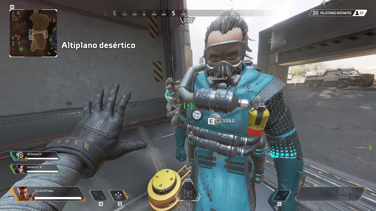 Apex Legends New Bug 3 Caustic Team+ Overlay crosshair msi