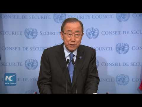 UN Secretary-General Ban Ki-moon condemns North Korea's nuclear test
