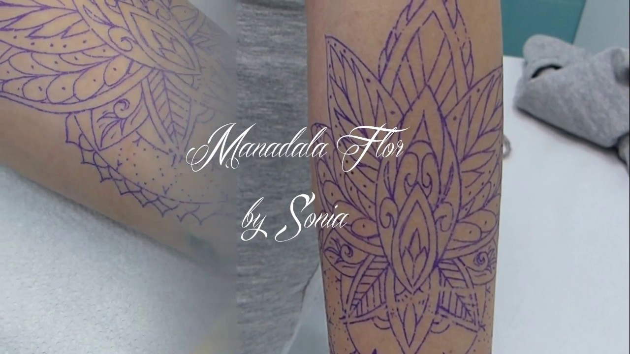 Buho Tatuaje Mandala tatuaje mandala flor antebrazo