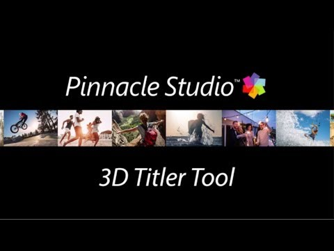 Pinnacle Studio 3D Title Editor