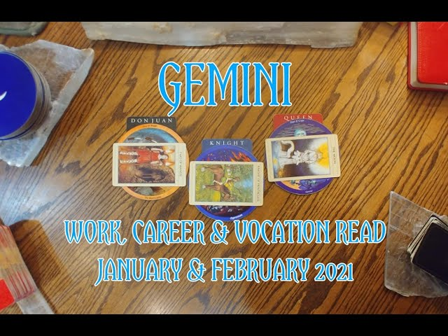 GEMINI: WORK CAREER & VOCATION READ JAN  + FEB 2021 = DON JUAN + KNIGHT + QUEEN ARCHETYPES