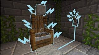 видео майнкрафт как сделать электрический стул