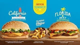 Mcdo : Florida Beef Vs California Chicken  | Fastgoodcuisine