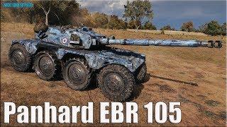 ГОНКИ на Panhard EBR 105 WOT как играют статисты (Корм 2)