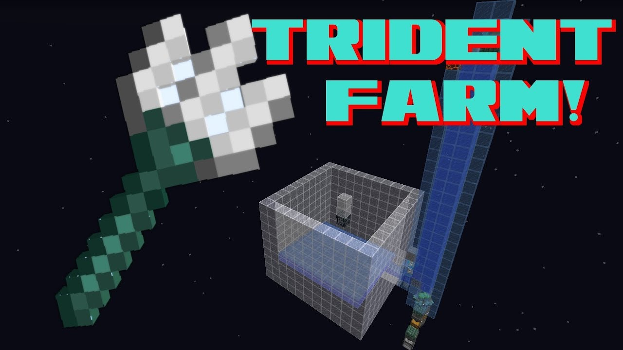Images of How To Make A Sea Trident Minecraft - #rock-cafe
