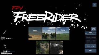 How to set-up Freerider Flight simulator program & flysky I6