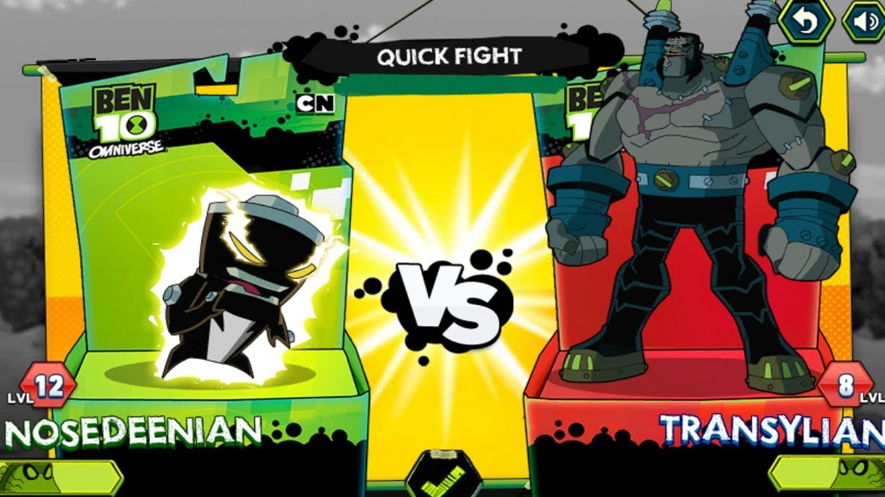 Ben 10 Omniverse Game - Galactic Champions (Cartoon ...