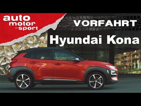 Hyundai Kona Schon wieder ein Erfolgsmodell Vorfahrt auto motor und sport