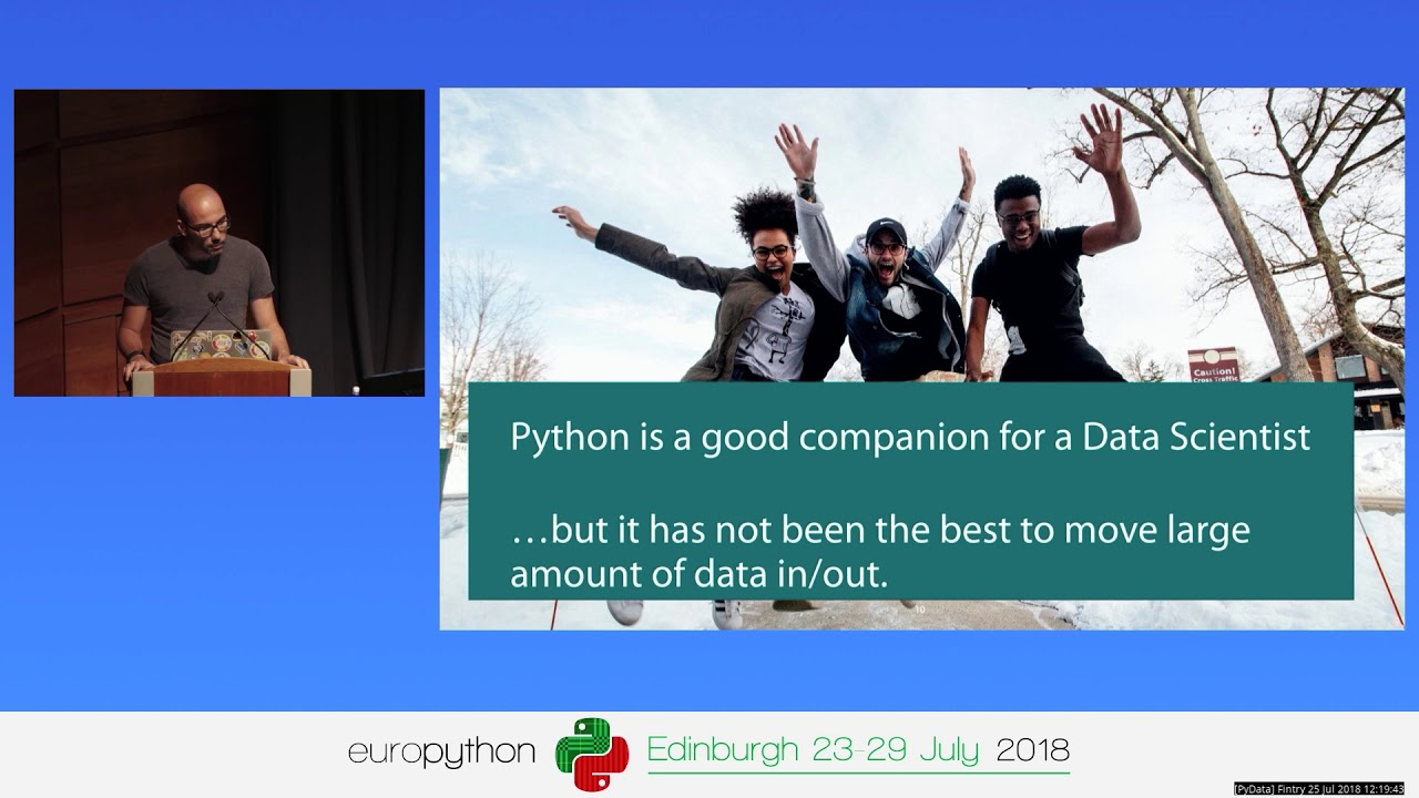 Peter Hoffmann - Using Pandas and Dask to work with large columnar datasets  in Apache Parquet