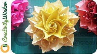 Spiral, Conic Paper Flower DIY