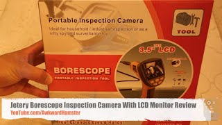 Jetery Borescope Inspection Camera With LCD Monitor Review
