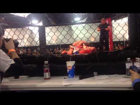 Brandon Showtime Hurst Baddog mma VS Mitchell Guzman