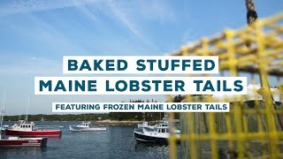 Recipe: Baked Stuffed Maine Lobster Tails