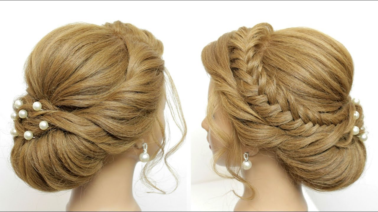 wedding prom updo tutorial. romantic hairstyles for long hair