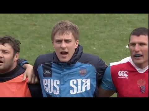State Anthem of the Soviet Union in the beginning of rugby match