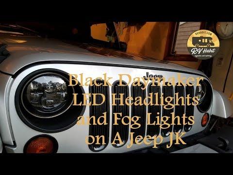Jeep Wrangler JK Black Daymaker 7