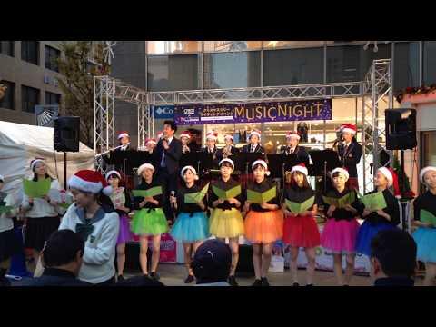 ミスターサンヨウ With 山陽女子中学・高校 『クリスマスメドレー』 2019/11/16 クレド岡山