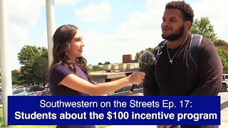 SWOSU students about the $100 COVID incentive program | Southwestern on the Streets Ep. 17