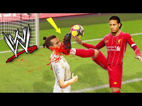 FIFA OR WWE 2020!? FIFA WWE WRESTLING FAILS WWE COMMENTARY!