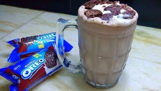 Oreo milkshake recipe/how to make Oreo milkshake/restaurant style Oreo milkshake with ice-cream