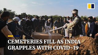 India's cemeteries fill as nationwide Covid-19 cases surpass 9 million, death toll over 132,000