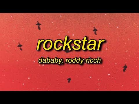 DaBaby – ROCKSTAR (Lyrics) ft. Roddy Ricch   brand new lamborghini cop car