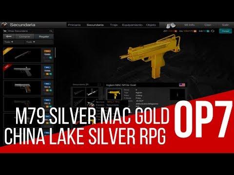Cuenta Lv 80 Mac Gold M79 Silver Rpg Silver China Lake Silver M72 Roja Striker