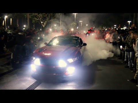 UNDERGROUND STREET DRIFTERS TAKE OVER LOS ANGELES!