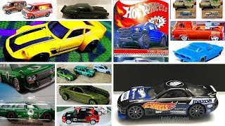 Hot Wheels 95 Mazda RX-7, Prototype 3D 1973 Camaro, Tarmac Works, Green Lights and more news