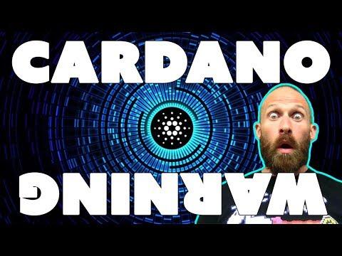 CARDANO WARNING - Don't Buy $ADA Before Watching This!!!