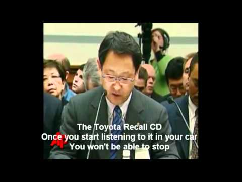 Toyota Recall Song