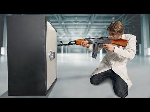 Откроется ли сейф от выстрела АК-47?