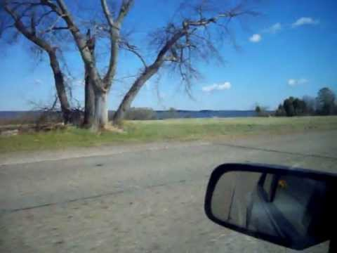 Driving by the York River