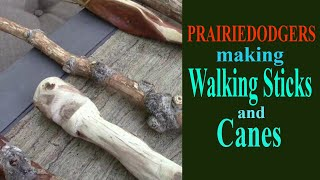 Making Walking Sticks and Canes for Exploring Getting Started