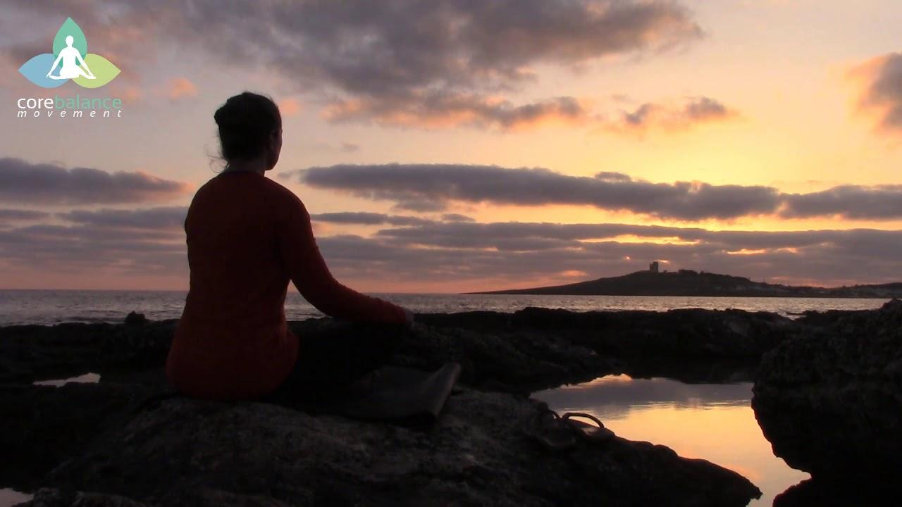 Sunrise Breathing Meditation by the Mediterranean Sea ...