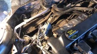 Volgograd shahrida motor ta'mirlash.Mazda 3. 2,3. O'rnatish so'ng ish.