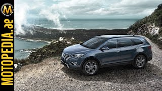 2015 Hyundai Grand Santa Fe Review - تجربة هيونداي سنتافي - Dubai UAE Car Review by Motopedia.ae