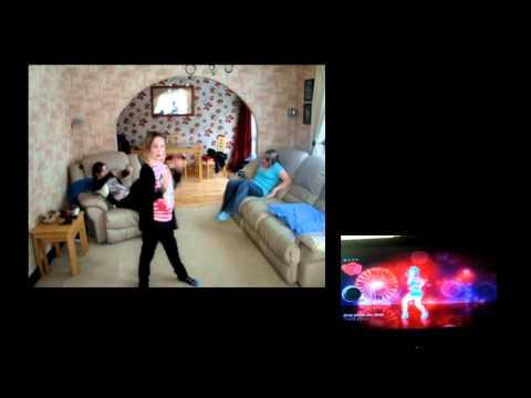 Sarah Dancing to Firework