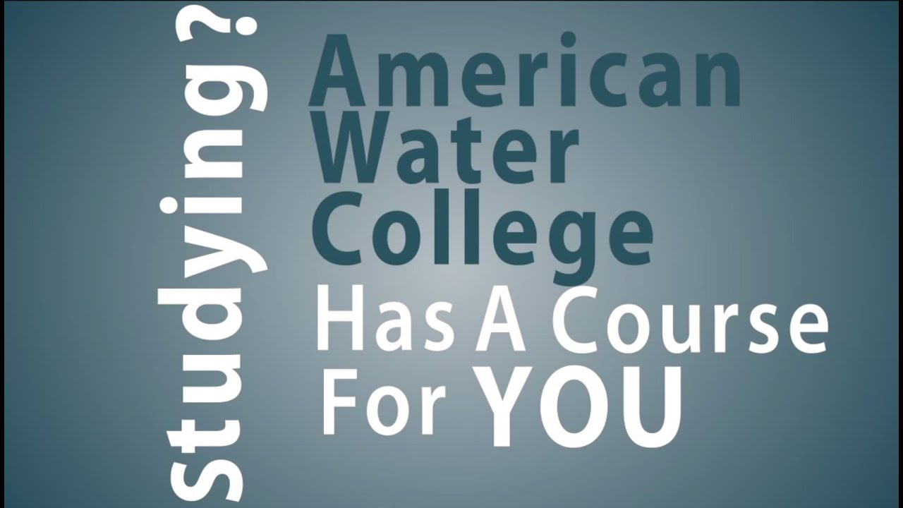State certification exam prep courses from american water college state certification exam prep courses from american water college xflitez Choice Image